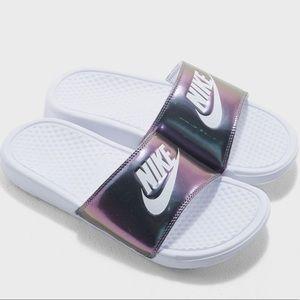 Shoes - Nike Benassi JDI Special Edition Metallic